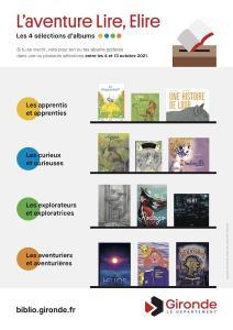 Lire, élire 2021 - Spectacle à la bibliothèque de Blasimon vendredi 24 septembre à 18h30 - Elections à Blasimon & Gornac du 4 au 13 octobre
