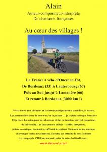 Récital de Chansons françaises à la bibliothèque de Blasimon mercredi 21 octobre