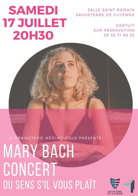 Concert Mary Bach